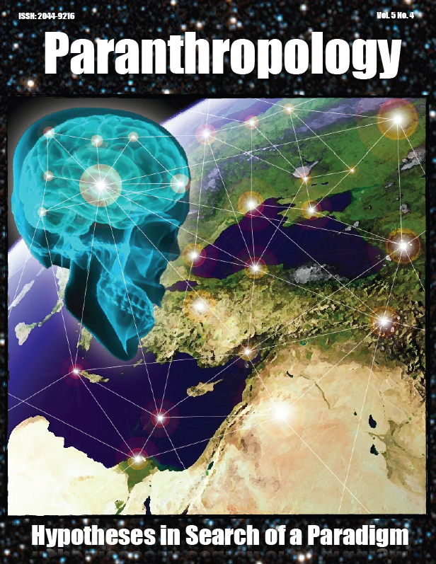 Free PDF - Paranthropology: Journal of Anthropological