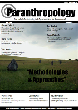 Vol. 1, No. 1 (July 2010) - 'Methodologies & Approaches'