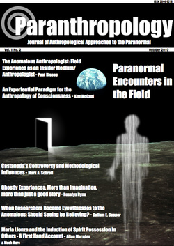 Vol. 1, No. 2 (October 2010) 'Paranormal Encounters in the Field'